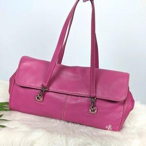 Ralph Lauren Pink Baguette Shoulder Bag y2k